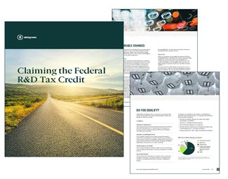 The Federal R&D Tax Credit