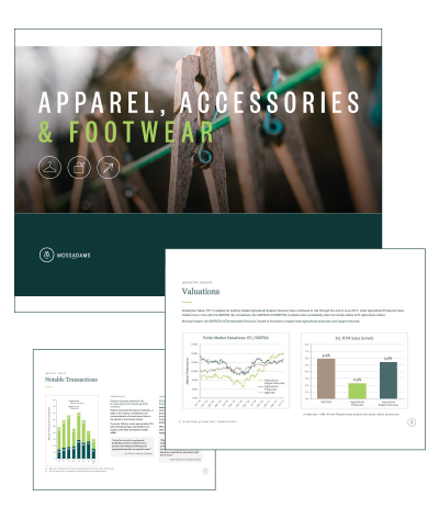 Apparel, Accessories & Footwear Market Monitor
